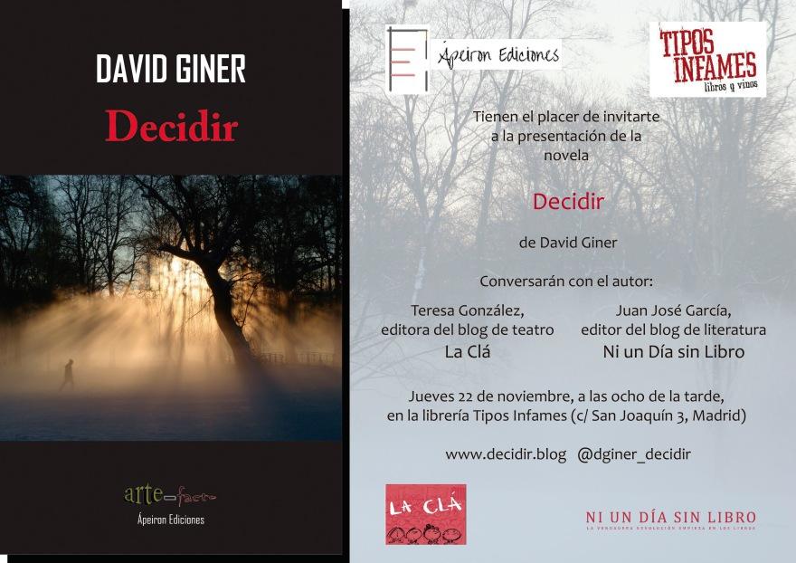 Invitacion DECIDIR-Tipos Infames